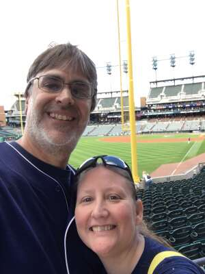 Chelle attended Detroit Tigers vs. Oakland Athletics - MLB on Sep 2nd 2021 via VetTix