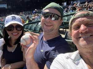 Randy attended Detroit Tigers vs. Oakland Athletics - MLB on Sep 2nd 2021 via VetTix