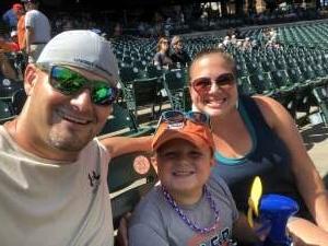 Vet attended Detroit Tigers vs. Oakland Athletics - MLB on Sep 2nd 2021 via VetTix