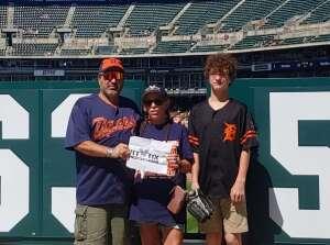 Brian S. attended Detroit Tigers vs. Oakland Athletics - MLB on Sep 2nd 2021 via VetTix