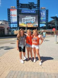 Thankful Vet attended Detroit Tigers vs. Oakland Athletics - MLB on Sep 2nd 2021 via VetTix