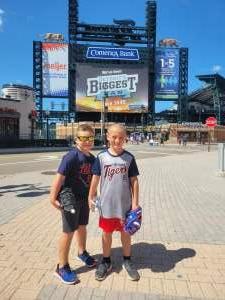 Jackie attended Detroit Tigers vs. Oakland Athletics - MLB on Sep 2nd 2021 via VetTix