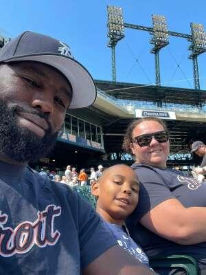 Robert attended Detroit Tigers vs. Oakland Athletics - MLB on Sep 2nd 2021 via VetTix