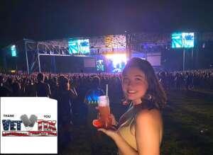 Amy R attended Pitbull: I Feel Good Tour on Aug 31st 2021 via VetTix