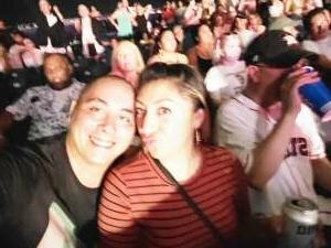 Clayton attended Pitbull: I Feel Good Tour on Aug 31st 2021 via VetTix