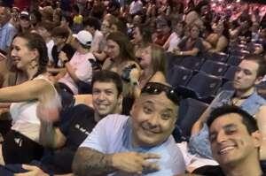 Sean attended Pitbull: I Feel Good Tour on Aug 31st 2021 via VetTix