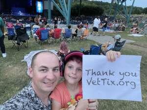 Bill attended Pitbull: I Feel Good Tour on Aug 31st 2021 via VetTix