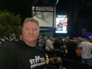 Landry attended Pitbull: I Feel Good Tour on Aug 31st 2021 via VetTix