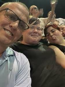 Daniel attended Pitbull: I Feel Good Tour on Aug 31st 2021 via VetTix