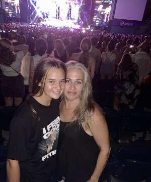 Mac attended Pitbull: I Feel Good Tour on Aug 31st 2021 via VetTix