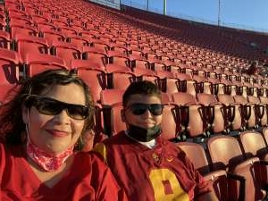 Eduardo Ortega attended USC Trojans vs. Stanford Cardinal - NCAA Football on Sep 11th 2021 via VetTix