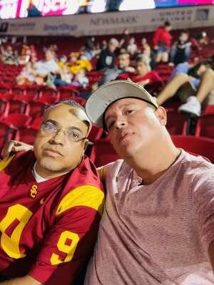 Dennis attended USC Trojans vs. Stanford Cardinal - NCAA Football on Sep 11th 2021 via VetTix