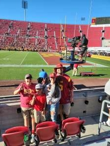 Sgt. Sanchez attended USC Trojans vs. Stanford Cardinal - NCAA Football on Sep 11th 2021 via VetTix