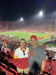 Michael attended USC Trojans vs. Stanford Cardinal - NCAA Football on Sep 11th 2021 via VetTix