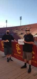 Carl attended USC Trojans vs. Stanford Cardinal - NCAA Football on Sep 11th 2021 via VetTix