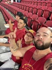 Kenneth Cisneros attended USC Trojans vs. Stanford Cardinal - NCAA Football on Sep 11th 2021 via VetTix