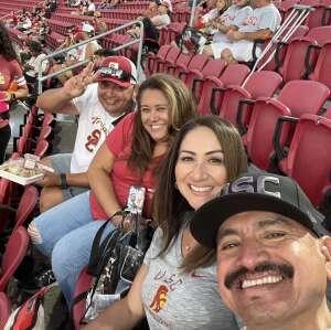 Jorge attended USC Trojans vs. Stanford Cardinal - NCAA Football on Sep 11th 2021 via VetTix