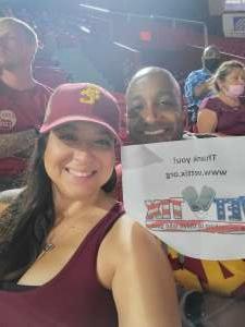 Glen attended USC Trojans vs. Stanford Cardinal - NCAA Football on Sep 11th 2021 via VetTix