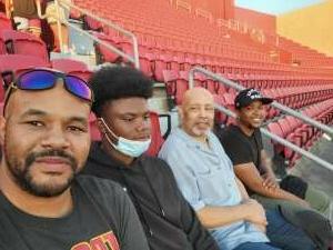 Richard attended USC Trojans vs. Stanford Cardinal - NCAA Football on Sep 11th 2021 via VetTix
