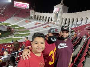 SSGMendoza attended USC Trojans vs. Stanford Cardinal - NCAA Football on Sep 11th 2021 via VetTix