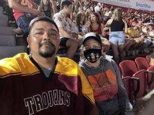 Eugene attended USC Trojans vs. Stanford Cardinal - NCAA Football on Sep 11th 2021 via VetTix