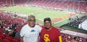 John attended USC Trojans vs. Stanford Cardinal - NCAA Football on Sep 11th 2021 via VetTix