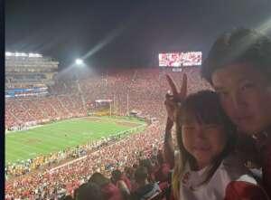 Freddy attended USC Trojans vs. Stanford Cardinal - NCAA Football on Sep 11th 2021 via VetTix