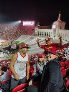 Justin attended USC Trojans vs. Stanford Cardinal - NCAA Football on Sep 11th 2021 via VetTix