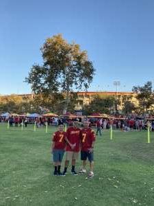 ErnJ79 attended USC Trojans vs. Stanford Cardinal - NCAA Football on Sep 11th 2021 via VetTix