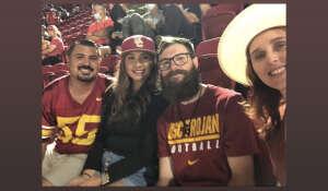 Adam Burden attended USC Trojans vs. Stanford Cardinal - NCAA Football on Sep 11th 2021 via VetTix