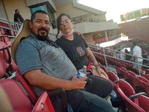 Everardo Trujillo attended USC Trojans vs. Stanford Cardinal - NCAA Football on Sep 11th 2021 via VetTix