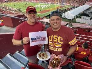 Michael S attended USC Trojans vs. Stanford Cardinal - NCAA Football on Sep 11th 2021 via VetTix