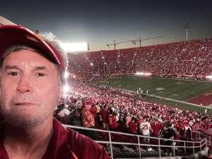Thank you USC! attended USC Trojans vs. Stanford Cardinal - NCAA Football on Sep 11th 2021 via VetTix