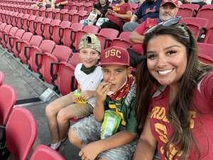 Roby  attended USC Trojans vs. Stanford Cardinal - NCAA Football on Sep 11th 2021 via VetTix