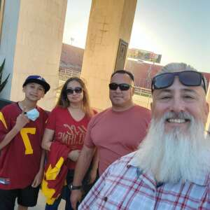 DocB attended USC Trojans vs. Stanford Cardinal - NCAA Football on Sep 11th 2021 via VetTix