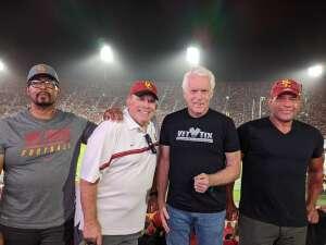 Harry Kiernan attended USC Trojans vs. Stanford Cardinal - NCAA Football on Sep 11th 2021 via VetTix