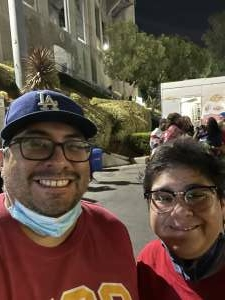 Jorge Lamas attended USC Trojans vs. Stanford Cardinal - NCAA Football on Sep 11th 2021 via VetTix