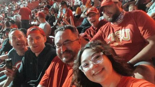 Chris Mansfield  attended USC Trojans vs. Stanford Cardinal - NCAA Football on Sep 11th 2021 via VetTix