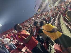 Ram P attended USC Trojans vs. Stanford Cardinal - NCAA Football on Sep 11th 2021 via VetTix