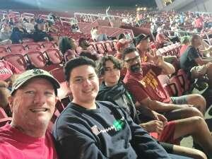 mwrisney attended USC Trojans vs. Stanford Cardinal - NCAA Football on Sep 11th 2021 via VetTix