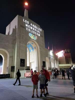 Sgt. Centeno attended USC Trojans vs. Stanford Cardinal - NCAA Football on Sep 11th 2021 via VetTix