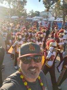 Pep attended USC Trojans vs. Stanford Cardinal - NCAA Football on Sep 11th 2021 via VetTix