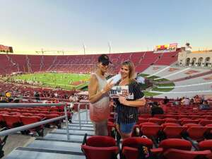 Gina attended USC Trojans vs. Stanford Cardinal - NCAA Football on Sep 11th 2021 via VetTix