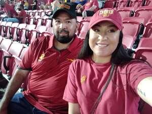 Eleazar Gaytan  attended USC Trojans vs. Stanford Cardinal - NCAA Football on Sep 11th 2021 via VetTix