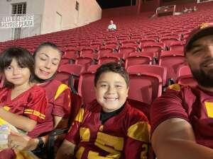 Carlos Mata attended USC Trojans vs. Stanford Cardinal - NCAA Football on Sep 11th 2021 via VetTix