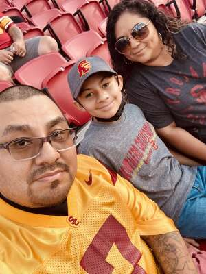 David attended USC Trojans vs. Stanford Cardinal - NCAA Football on Sep 11th 2021 via VetTix