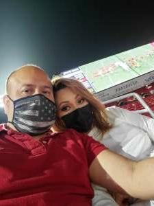 Al attended USC Trojans vs. Stanford Cardinal - NCAA Football on Sep 11th 2021 via VetTix