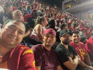 Fight on!!!!! attended USC Trojans vs. Stanford Cardinal - NCAA Football on Sep 11th 2021 via VetTix