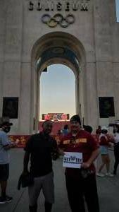 Necram attended USC Trojans vs. Stanford Cardinal - NCAA Football on Sep 11th 2021 via VetTix