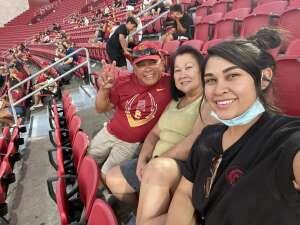 Carlos attended USC Trojans vs. Stanford Cardinal - NCAA Football on Sep 11th 2021 via VetTix